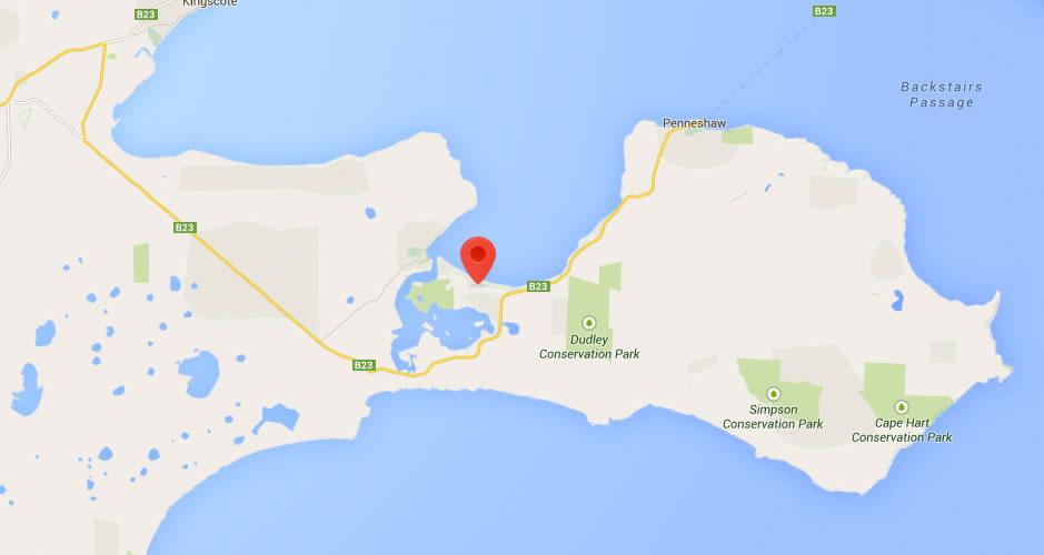Kangaroo Island Luxury Accommodation Location